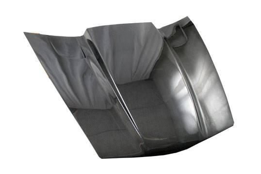 VIS Racing - Carbon Fiber Hood Penta Style for Chevrolet Corvette 2DR 05-13