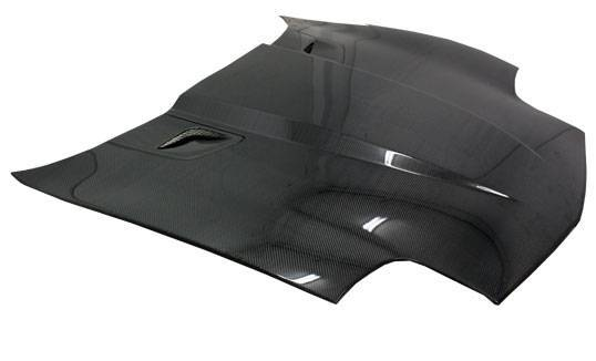 VIS Racing - Carbon Fiber Hood Penta Style for Chevrolet Corvette 2DR 97-04