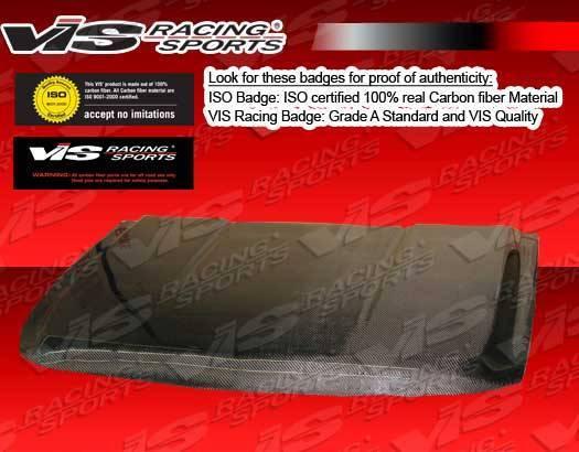 VIS Racing - Carbon Fiber Hood OEM Style for Chevrolet Tahoe 4DR 07-11