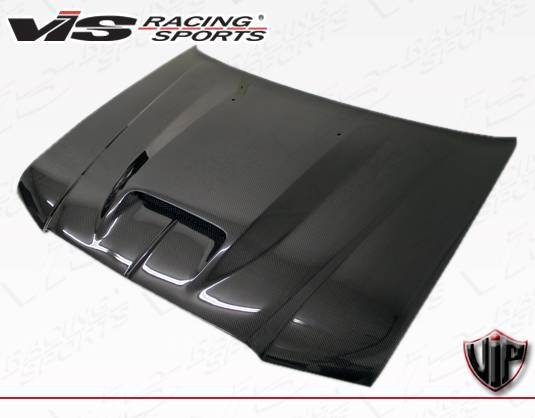 VIS Racing - Carbon Fiber Hood SRT Style for Chrysler 300/300C 4DR 05-10