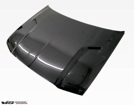 VIS Racing - Carbon Fiber Hood SRT 2 Style for Chrysler 300/300C 4DR 05-10