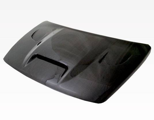 VIS Racing - Carbon Fiber Hood SRT Style for Dodge Caliber (non srt) 4DR 07-09
