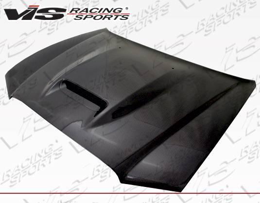 VIS Racing - Carbon Fiber Hood SRT Style for Dodge Charger 4DR 11-14
