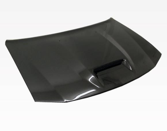 VIS Racing - Carbon Fiber Hood SRT Style for Dodge Charger 4DR 06-10