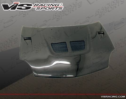 VIS Racing - Carbon Fiber Hood EVO Style for Dodge Neon 4DR 00-05