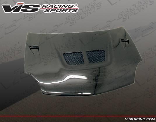 VIS Racing - Carbon Fiber Hood EVO Style for Dodge Neon 4DR 00-05