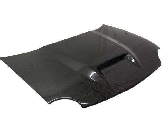 VIS Racing - Carbon Fiber Hood SRT Style for Dodge Neon  2DR & 4DR 95-99