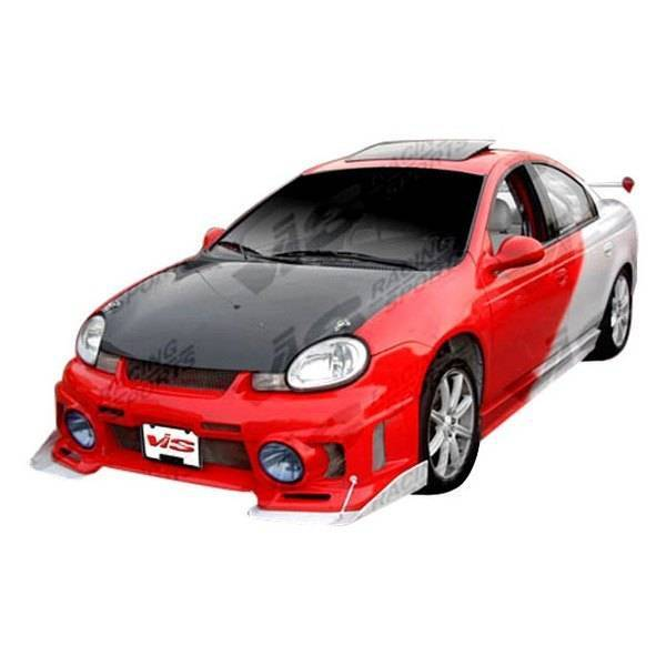 VIS Racing - Carbon Fiber Hood OEM Style for Dodge Neon  4DR 00-05