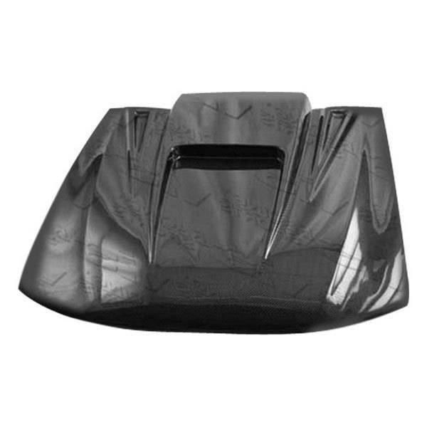 VIS Racing - Carbon Fiber Hood ZD Style for Dodge Stratus 4DR 95-00