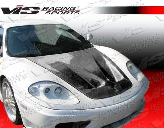 VIS Racing - Carbon Fiber Hood GT Style for Ferrari F 430 2DR 05-09
