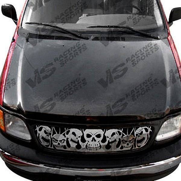 VIS Racing - Carbon Fiber Hood Cobra R 2000 Style for Ford Expedition 4DR 97-02