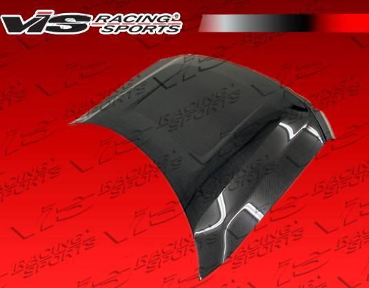 VIS Racing - Carbon Fiber Hood OEM Style for Ford F150 2DR & 4DR 09-14