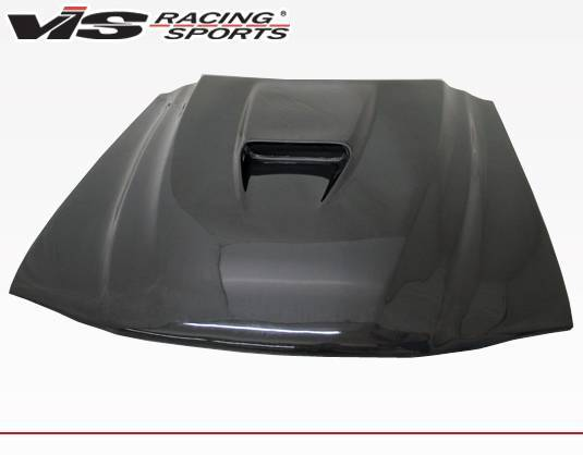 VIS Racing - Carbon Fiber Hood SS Style for Ford MUSTANG 2DR 94-98