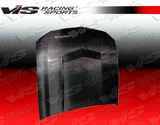 VIS Racing - Carbon Fiber Hood Stalker 3 Style for Ford MUSTANG 2DR 05-09