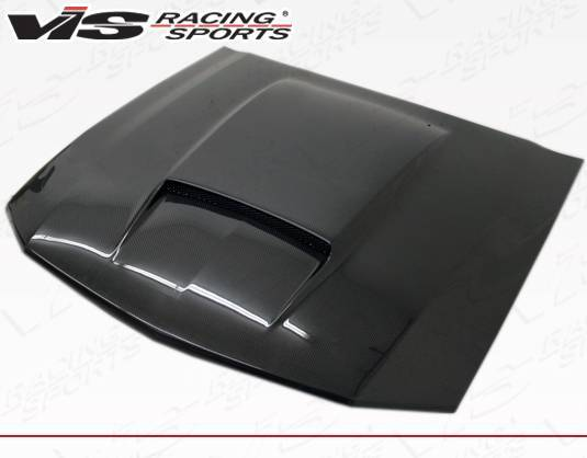VIS Racing - Carbon Fiber Hood Stalker X Style for Ford MUSTANG 2DR 05-09