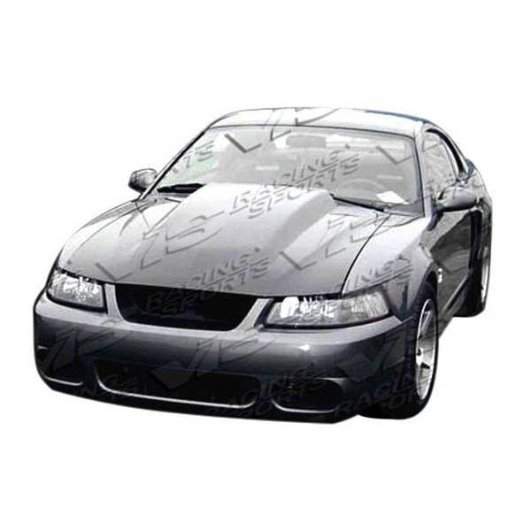 VIS Racing - Carbon Fiber Hood Cowl Induction Style for Ford MUSTANG 2DR 99-04