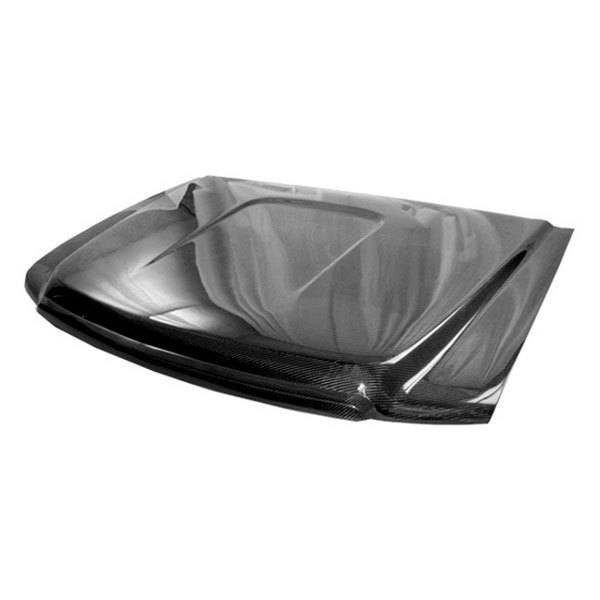 VIS Racing - Carbon Fiber Hood OEM Style for GMC Sierra 4DR 07-09