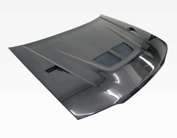 VIS Racing - Carbon Fiber Hood EVO Style for Honda Accord 2DR & 4DR 90-93