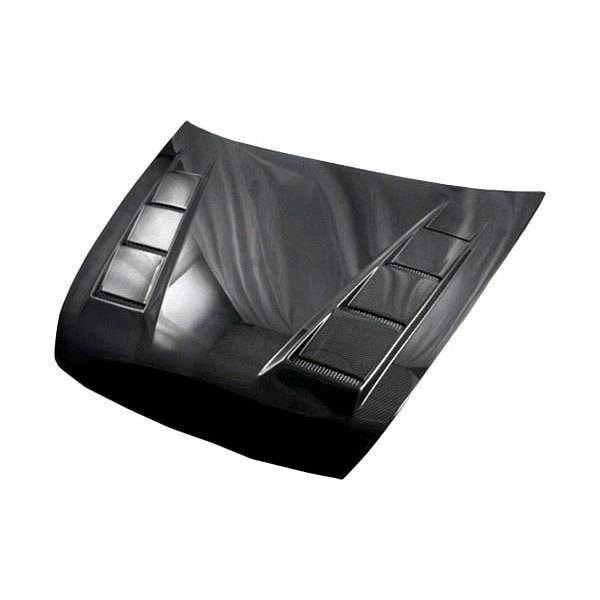 VIS Racing - Carbon Fiber Hood Terminator Style for Honda Accord 4DR 03-07