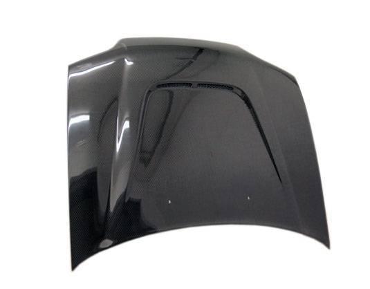 VIS Racing - Carbon Fiber Hood JS Style for Honda Civic 2DR 92-95