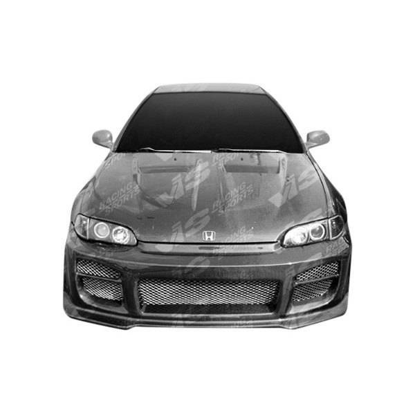 VIS Racing - Carbon Fiber Hood Xtreme GT Style for Honda Civic 2DR 92-95