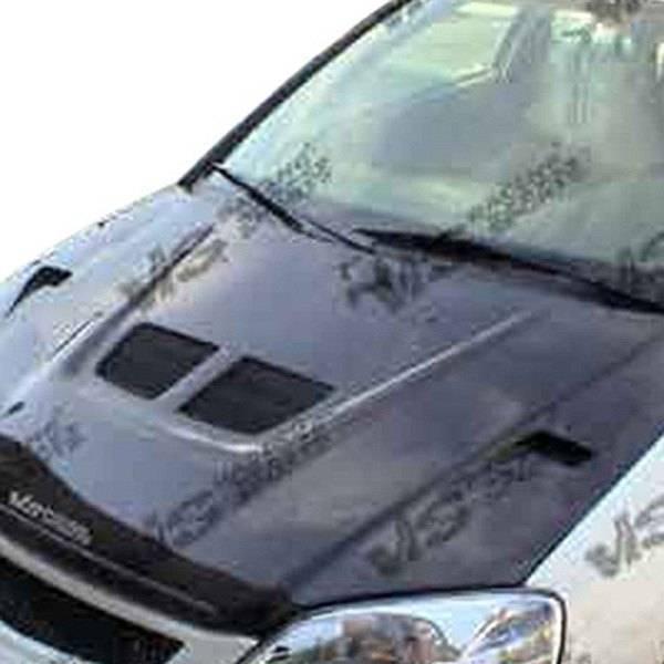 VIS Racing - Carbon Fiber Hood EVO Style for Honda Civic Hatchback 88-91