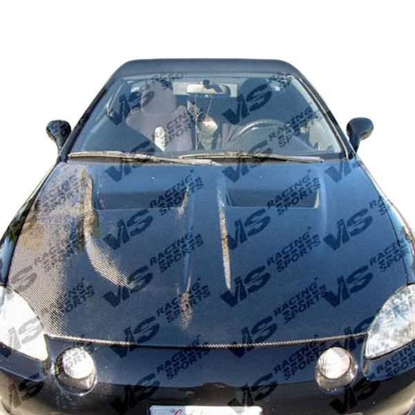VIS Racing - Carbon Fiber Hood Xtreme GT Style for Honda Civic Hatchback 88-91