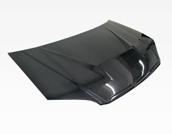 VIS Racing - Carbon Fiber Hood Invader Style for Honda Civic 2DR & 4DR 01-03
