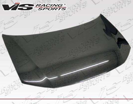 VIS Racing - Carbon Fiber Hood OEM Style for Honda Civic 4DR 12-12
