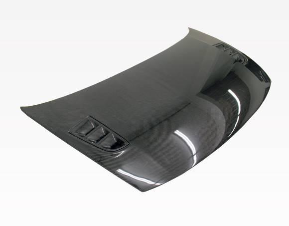 VIS Racing - Carbon Fiber Hood RR Style for Honda Civic 2DR 06-11