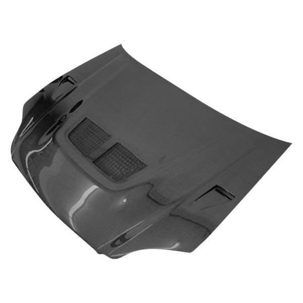 VIS Racing - Carbon Fiber Hood EVO  Style for Honda Civic 2DR 99-00