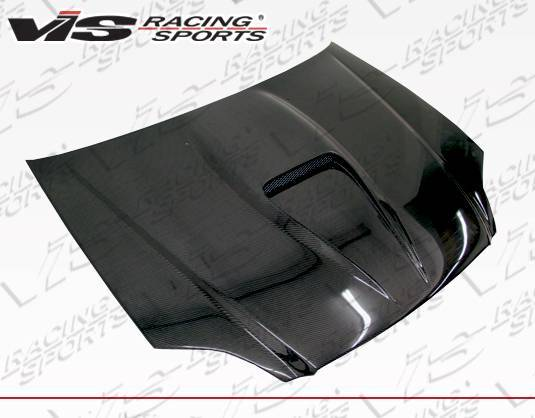 VIS Racing - Carbon Fiber Hood G Force Style for Honda Civic 2DR 99-00