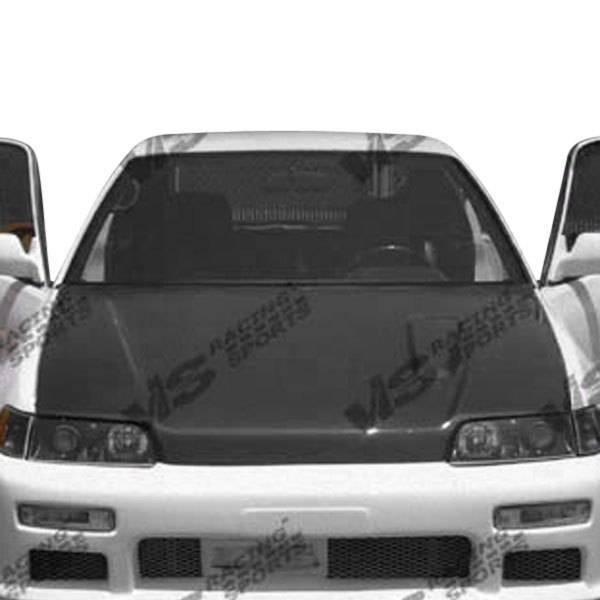 VIS Racing - Carbon Fiber Hood ZC Style for Honda Civic  Hatchback 88-91