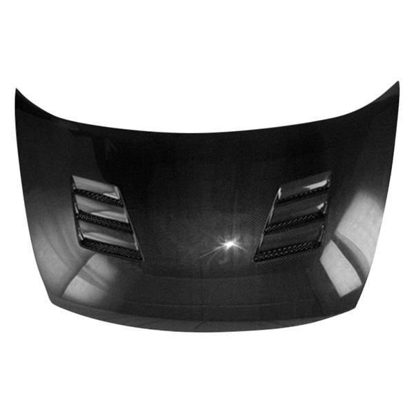 VIS Racing - Carbon Fiber Hood Techno R Style for Honda Civic (JDM) 4DR 06-11