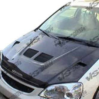 VIS Racing - Carbon Fiber Hood EVO Style for Honda CRX Hatchback 88-91