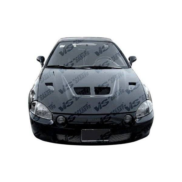 VIS Racing - Carbon Fiber Hood Xtreme GT Style for Honda CRX Hatchback 88-91