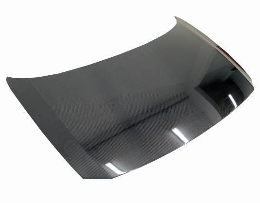 VIS Racing - Carbon Fiber Hood OEM Style for Honda CR-Z Hatchback 11-16