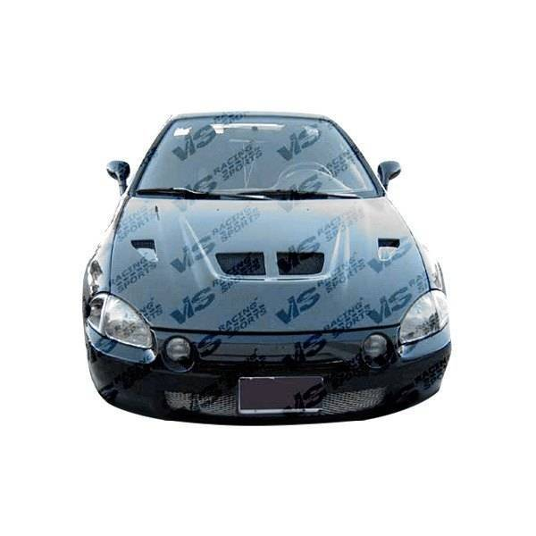 VIS Racing - Carbon Fiber Hood EVO Style for Honda Del Sol 2DR 93-97