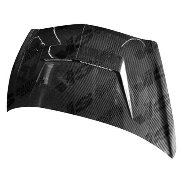 VIS Racing - Carbon Fiber Hood Invader 2 Style for Honda Fit (JDM) 4DR 07-08