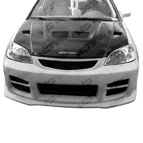VIS Racing - Carbon Fiber Hood EVO Style for Honda Prelude 2DR 92-96