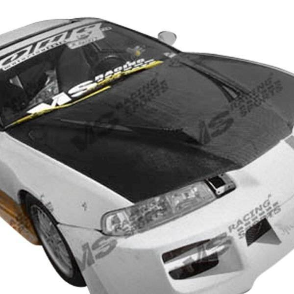 VIS Racing - Carbon Fiber Hood Invader Style for Honda Prelude 2DR 92-96
