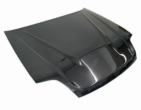 VIS Racing - Carbon Fiber Hood Invader Style for Honda Prelude 2DR 97-01