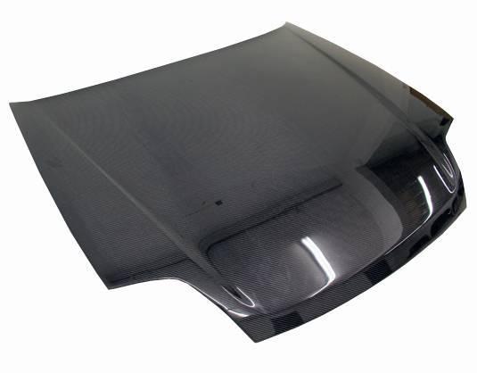 VIS Racing - Carbon Fiber Hood OEM Style for Honda Prelude 2DR 97-01