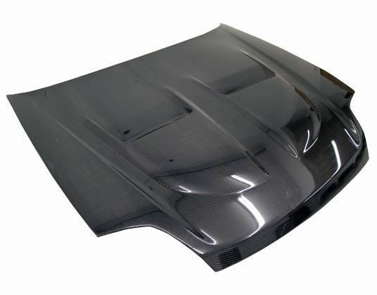 VIS Racing - Carbon Fiber Hood Xtreme GT Style for Honda Prelude 2DR 97-01