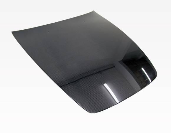 VIS Racing - Carbon Fiber Hood OEM Style for Honda S2000 2DR 00-09