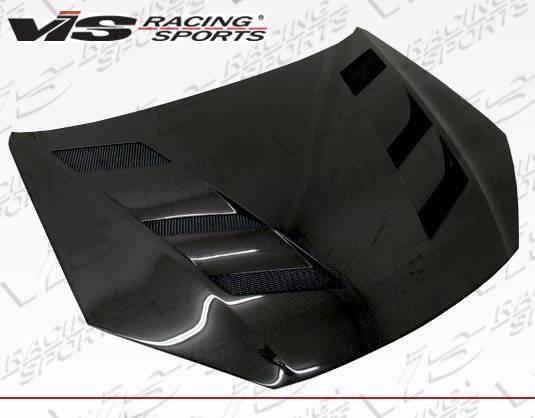 VIS Racing - Carbon Fiber Hood AMS Style for Hyundai Genesis 2DR 13-16
