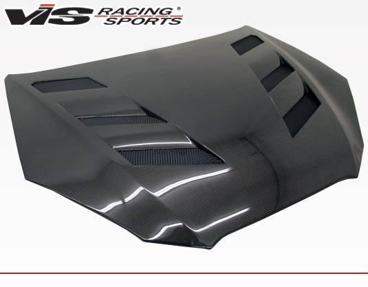 VIS Racing - Carbon Fiber Hood AMS Style for Hyundai Genesis 2DR 10-12