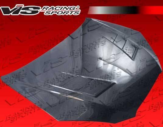 VIS Racing - Carbon Fiber Hood Terminator GT Style for Hyundai Genesis 2DR 2009-2012