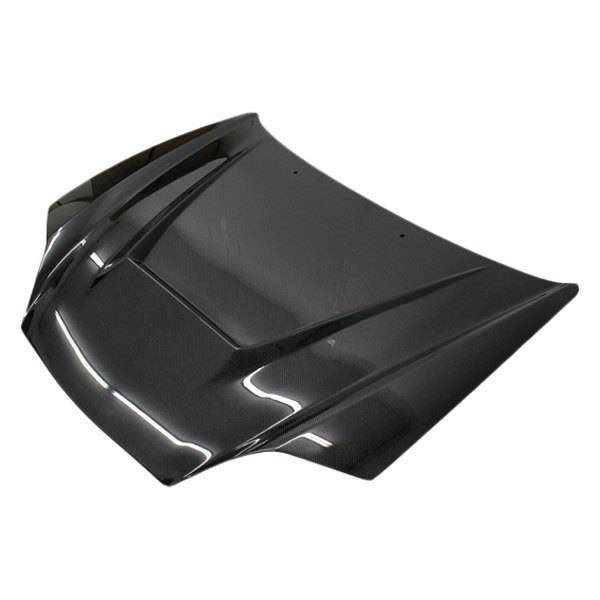 VIS Racing - Carbon Fiber Hood Invader Style for Hyundai Tiburon 2DR 03-06
