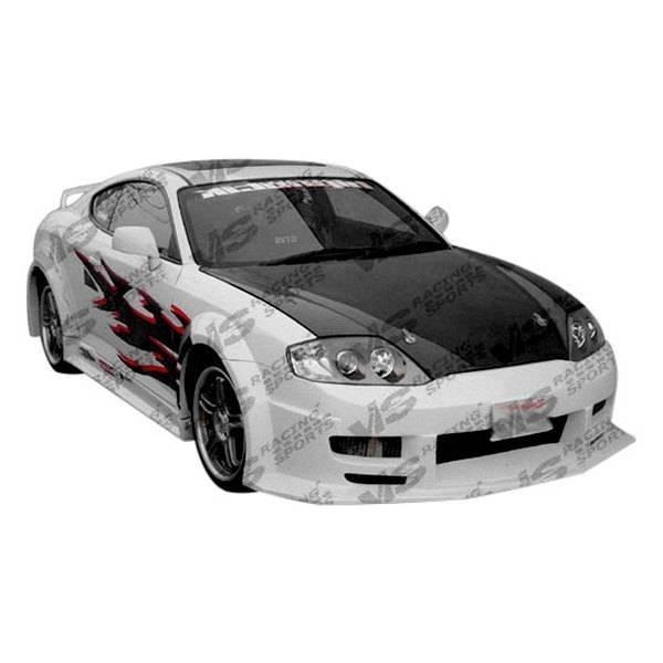 VIS Racing - Carbon Fiber Hood OEM Style for Hyundai Tiburon 2DR 00-02
